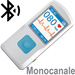 MINI ECG PALMARE PM10 - 1 DERIVAZIONE - monocanale - display a colori - software + bluetooth